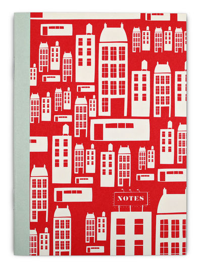 Townhouses Notizbuch A6, blanko