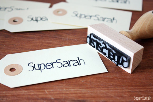 SuperSarah - Stempel