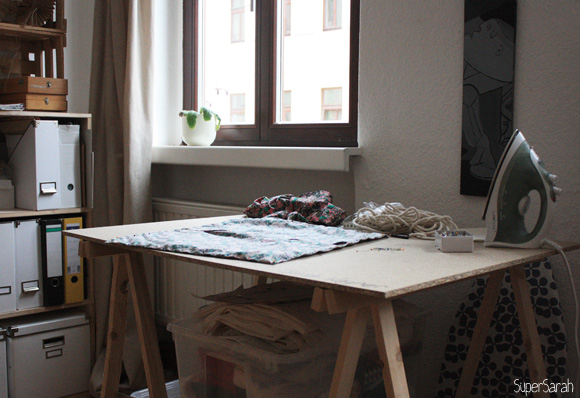 SuperSarah - Werkbank
