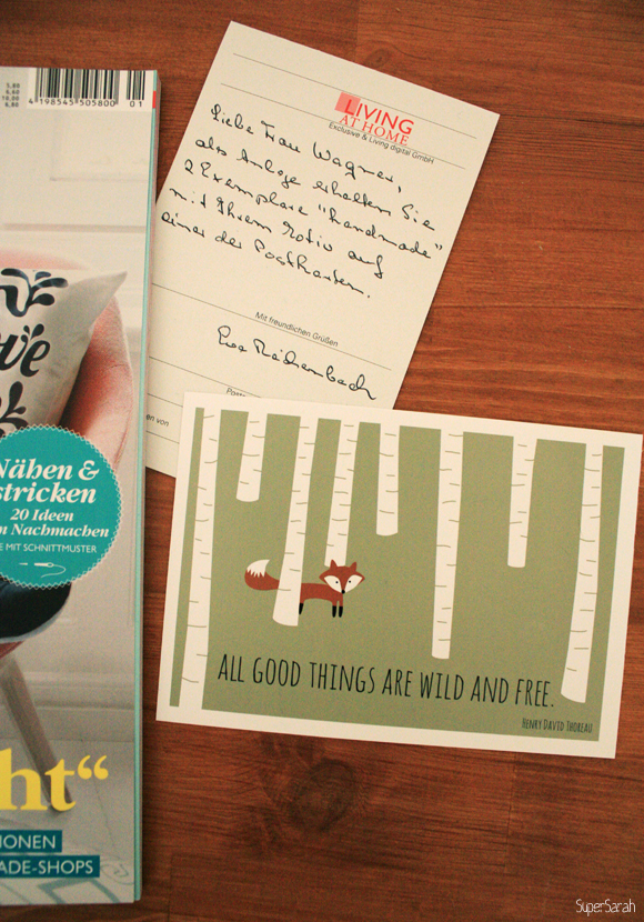 Living at Home - Handmade Spezial 2013