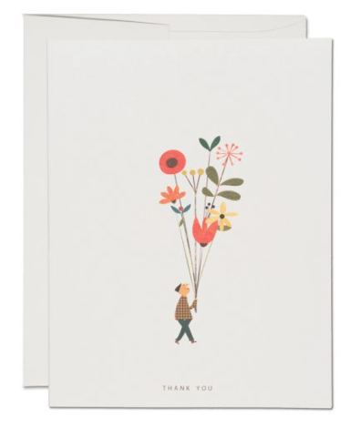 Long Stem Thank You Card